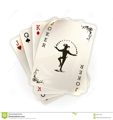 playing cards   joker stock images image