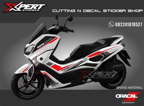 Nmax 2018 Hitam by Stiker Nmax Gold Cutting Sticker Nmax Hitam 2018 Harga