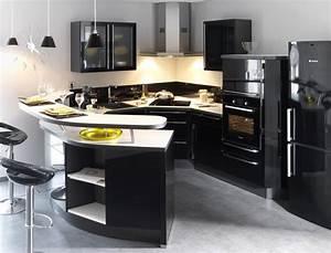 Petit Ilot Cuisine : ilot central cuisine conforama 12 deco cuisine moderne ~ Premium-room.com Idées de Décoration