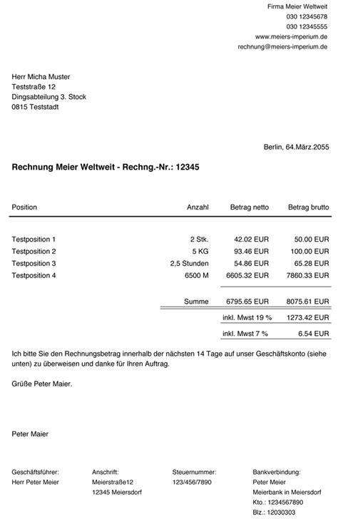 Auf Rechnung by Rechnungen F 252 R Einen Shop Schreiben