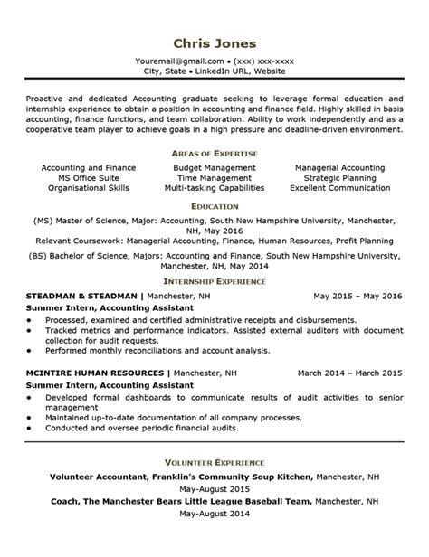 Entry Level Resume Template by Career Situation Resume Templates Resume Companion