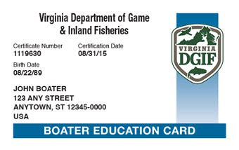 Virginia Boating License virginia boating license faq