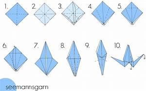 Origami Kranich Anleitung : origami kranich einfach my blog ~ Frokenaadalensverden.com Haus und Dekorationen