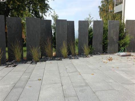Sichtschutz Garten Schiefer by Sichtschutz Naturstein Schiefer Code 802 805 Sol Ag
