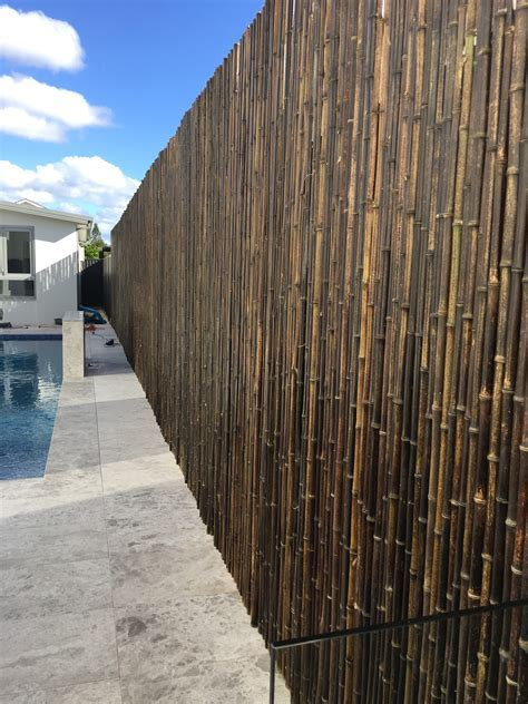 How To Cover Your Colorbond Fence   House of Bamboo