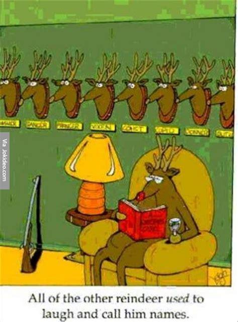 Adult Christmas Memes - funny reindeer christmas cartoon