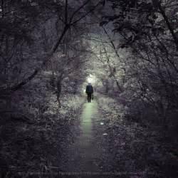 Sad Person Walking Away