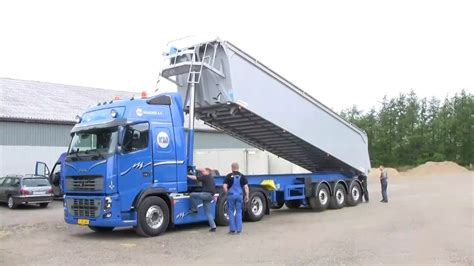 volvo fh    shift  tipper youtube