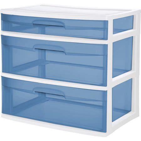sterilite 5 drawer wide tower sterilite 3 drawer wide tower walmart
