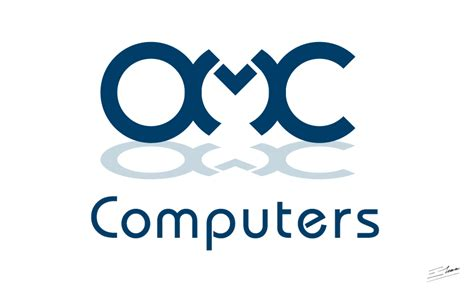 Omc Computer Logo Design  Corporate Logos And Image. English Translation Lettering. Coming Signs. Communion Banners. Caffeine Signs. Personalised Business Labels. Summer Night Signs Of Stroke. Flame Lettering. Pyramid Logo
