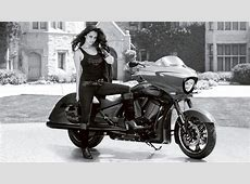 Playboy PlaymateAutographed Victory Cross Country Bike On