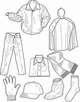 Coloring Clothes Colouring Winter Clothing Clipart Printable Sheets Worksheet Ropa Mewarnai Gambar Outfits Invierno Dresses Kleidung Sheet Colorear Pakaian Pdf sketch template