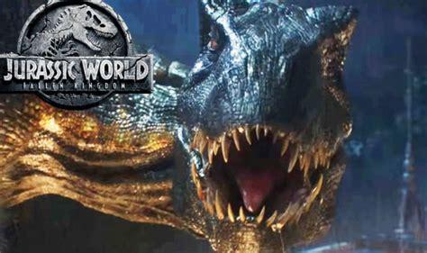 jurassic world 2 end credit what does fallen kingdom end