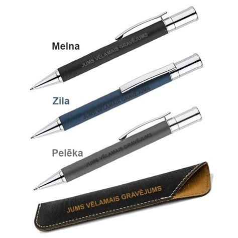 Metāla pildspalva maciņā AS19636-AS19029-02 ar gravējumu ...