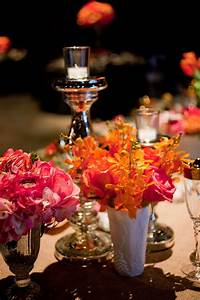 Bright Florals By Nicole Ha Design At Casa Real At Ruby Hill Winery  Photo By Augie Chang