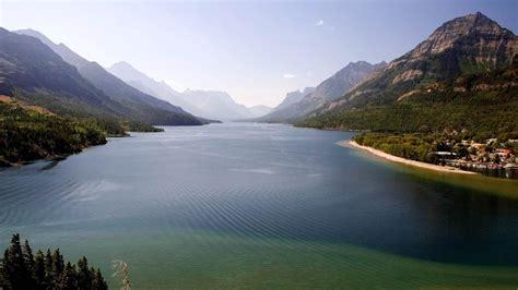 waterton lakes national park hd desktop wallpaper