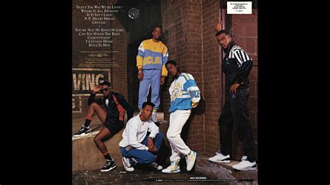 New Edition... I'm Coming Home...1988