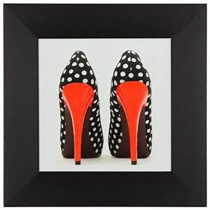 Schuhschrank High Heels : wandbild 3er set kunstdruck je 23x23 cm high heels pumps rot orange wei ~ Sanjose-hotels-ca.com Haus und Dekorationen