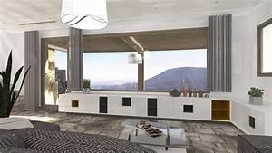 Aménagement D Un Salon : am nagement d un salon s jour terrasse sur les hauteurs d ~ Zukunftsfamilie.com Idées de Décoration