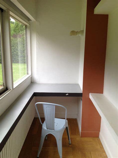 bureau le corbusier la villa savoye de le corbusier de fil en archive
