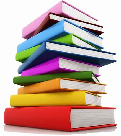 Study 3d Books Research Materials Useful Colorful
