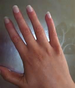 Long French Acrylic Nails