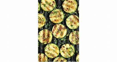 Grilled Zucchini Garlic Lemon