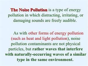 Essay noise pollution english - writefiction581.web.fc2.com