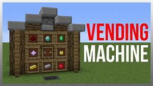 Minecraft 1.12: Redstone Tutorial - Vending Machine V2 ...
