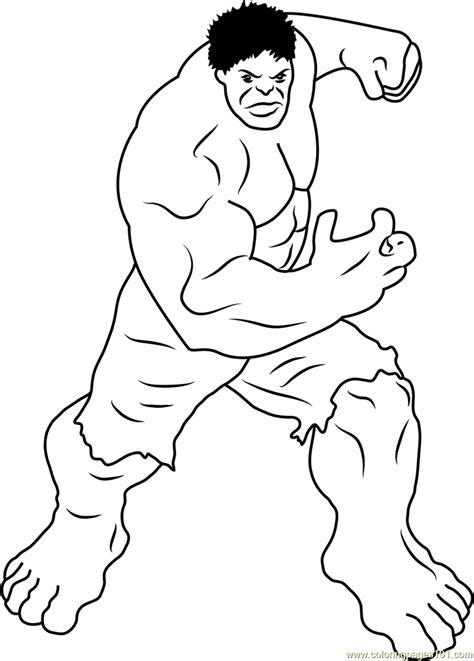 incredible hulk coloring page  hulk coloring pages coloringpagescom
