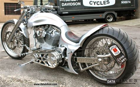 2007 Harley Davidson Custom Drag Style Bike