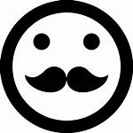 Mustache Svg Icon Face Smiley Onlinewebfonts Hipster