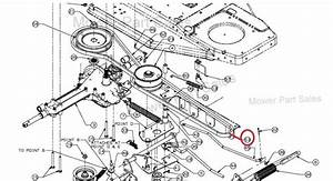 Mtd Engine To The Variable Speed Transmission Drive Belt