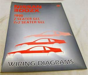 199nissan 300zx Wiring Diagram Manual Original