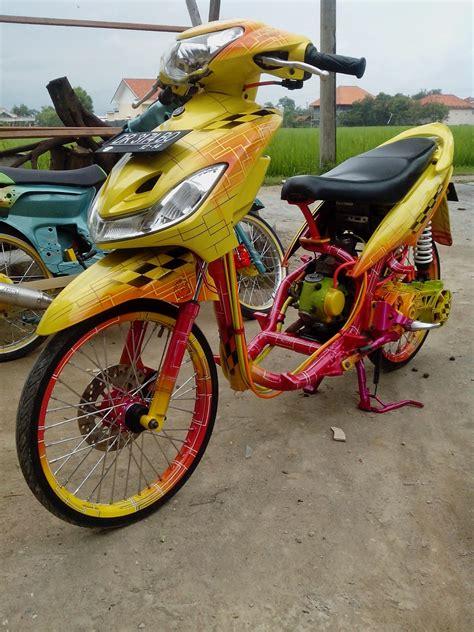 Mio J Modifikasi Racing by 100 Gambar Motor Modifikasi Mio Sporty Terbaru Gubuk