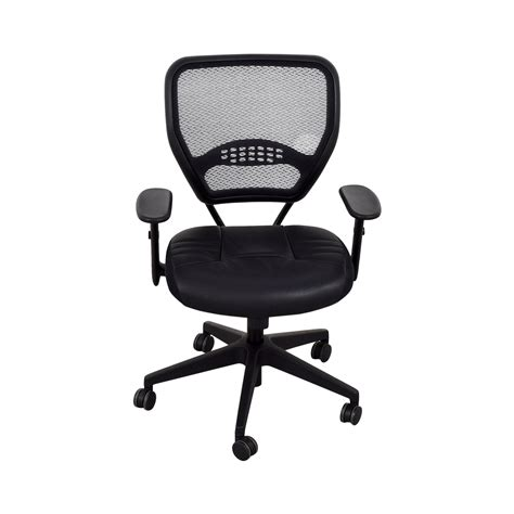 30 office office black eco leather seat