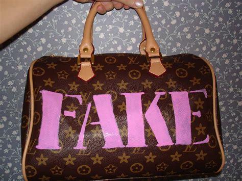 spot  real designer bag   fake flea market