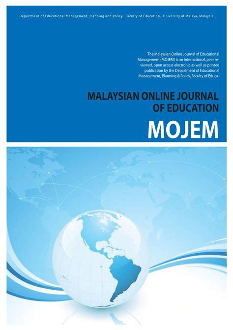 journal malaysian  journal  educational management