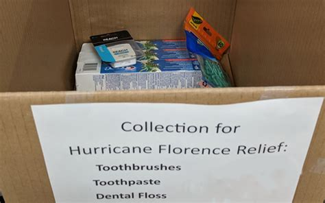 State Dental Supplies by Collecting Dental Supplies For Hurricane Relief Uncsa