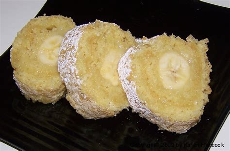 fashioned banana roll recipe desserts