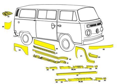 19681979 Vw Bus Body Panels