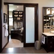 Master Bathroom Master Closet Traditional Bathroom Designer Cameron Snyder Judy Whalen Photography Dan Cutrona Master Bedroom Closet Traditional Closet Chicago By Linly Robeson Design Master Bedroom With Mirrored Closet Storage Ideas