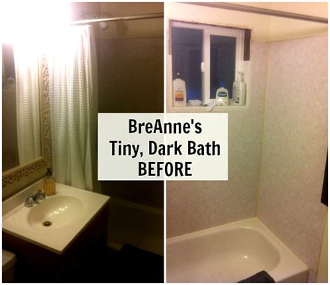 bathroom renos ideas before after giving a small bathroom some character
