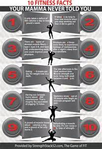 Infographic Fitness Facts
