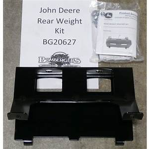 John Deere Rear Weight Bracket - Bg20627