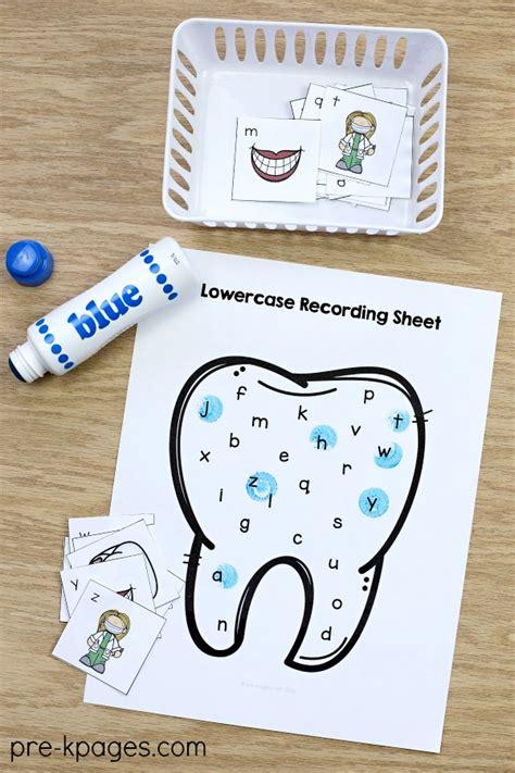 dental health theme activities for preschool 468 | Dental Health Alphabet Activity