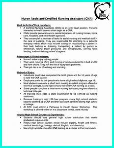 Resume Certified Nursing Assistant Quot Mention Great And Convincing Skills Quot Said Cna Resume Sample