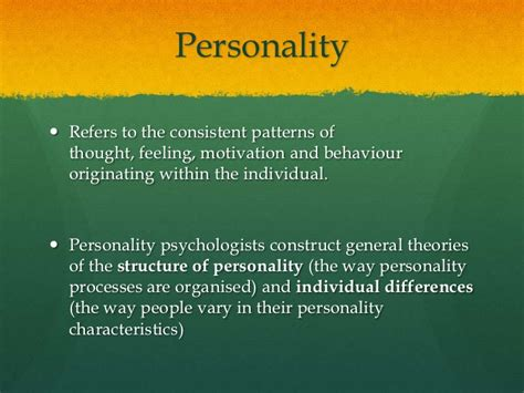 01intro To Personality Psychology