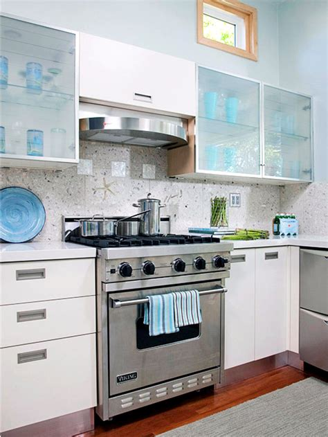 recycling kitchen cabinets 30 ideas for kitchen design back wall tiles glass or 1762
