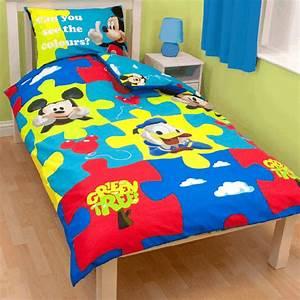 Minnie Maus Bettwäsche : micky maus wende bettw sche mickey mouse 135x200cm ebay ~ Orissabook.com Haus und Dekorationen